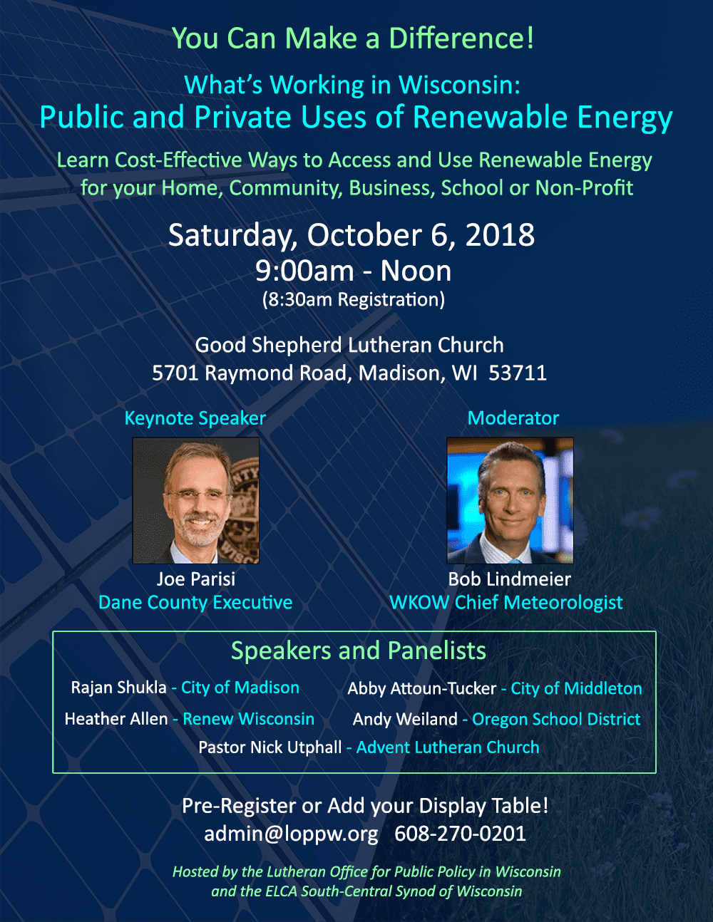 Public & Private Uses of Renewable Energy – South-Central