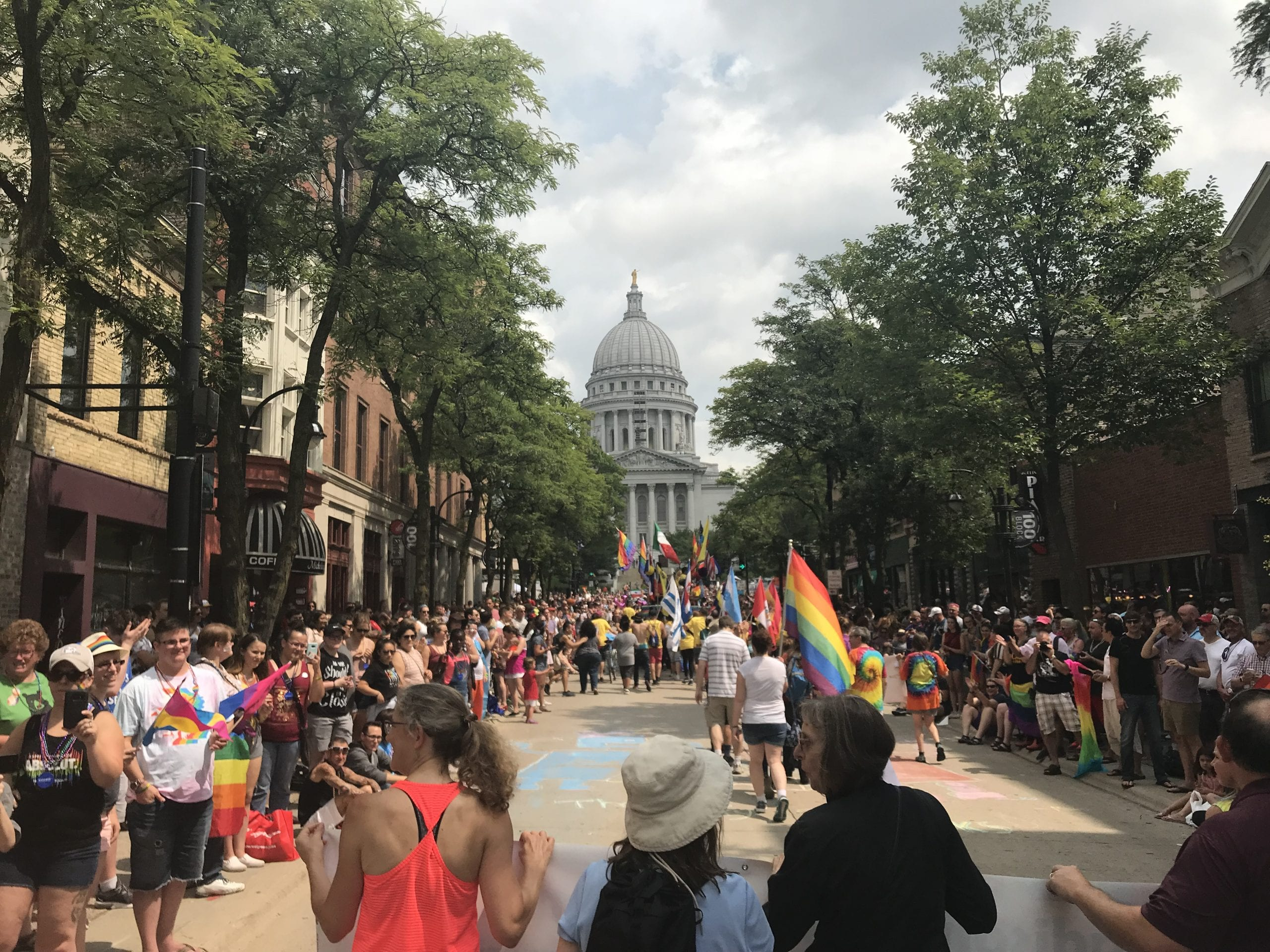 2018 Madison PRIDE Parade Participants