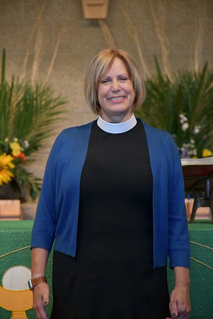 Full Portrait of Bishop Joy